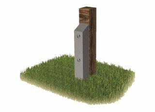 Concrete Post Repair Spur 100x100x1050mm