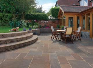 Pavestone Natural Stone Paving Premium Select Raj Blend 900x600mm