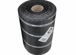 Polythene DPC Brickgrip Black 100mmx30m