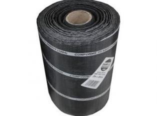 Polythene DPC Brickgrip Black 225mmx30m