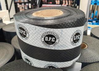 Polythene DPC Brickgrip Black 337.5mmx30m