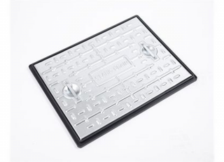 Clark-Drain Solid Top Cover & Frame Pedestrian 600x450mm PC6AG