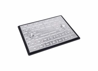 Clark-Drain Solid Top Cover & Frame Driveway 5T GPW 600x450mm PC6BG