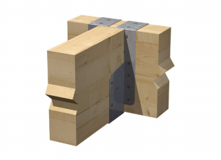 Expamet Joist Hanger Galv Timber-Timber Jiffy Type 75mm