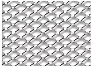 Expamet Galvanised Expanded Metal Lath 2.5mx700mm