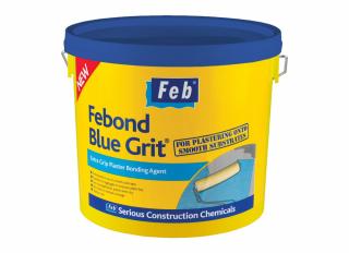 Everbuild Febond Grit Blue 10L