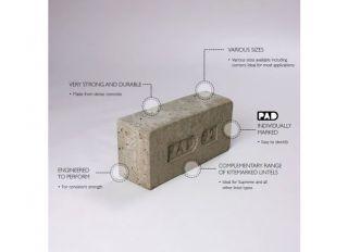 Concrete Padstone 440x215x102mm PAD12