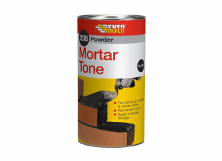 Everbuild 208 Pow Mortar Tone Black 1kg