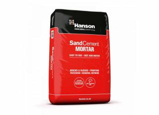 Hanson Sand Cement Brick Mortar 20kg Bag