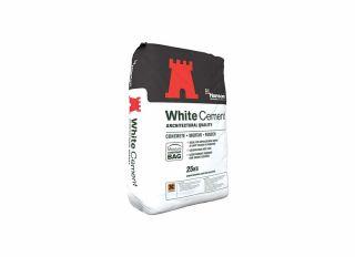 Hanson White Cement 25kg Bag