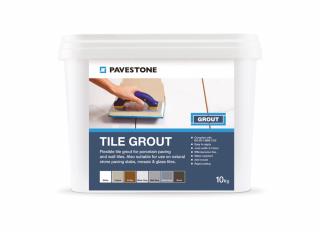 Pavestone Tile Grout Silver Grey 10kg