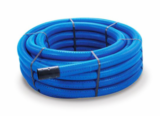Polypipe 2025BU Blue MDPE Water Pipe 20mmx25m