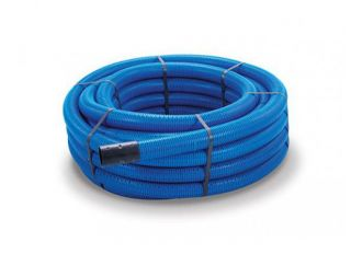 Polypipe 25100BU Blue MDPE Water Pipe 25mmx100m