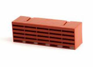 Timloc Plastic Air Brick Terracotta 215x75mm (9x3in)