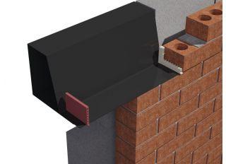 Timloc Cavity Wall Weep Vent Terracotta 65x10x100mm