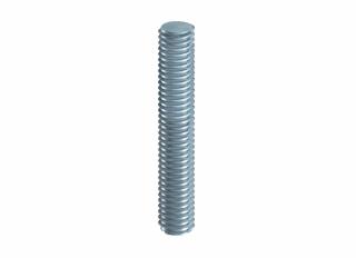 Threaded Rod Studding BZP M8x1m