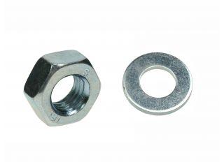 Hexagonal Nut BZP Metric Coarde Thread M12