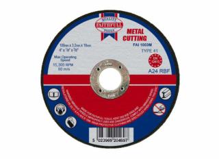 Faithfull Metal Cutting Disc 3.2x22x230mm