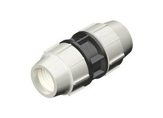 PLASSON MDPE COMPRESSION COUPLING 7010 25mm