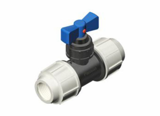 PLASSON MDPE COMPRESSION STOPTAP BS5433 3407 25mm