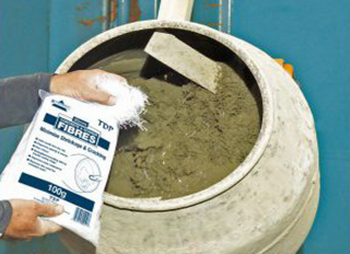 TDP Concrete & Screed Fibres Bag 20mm 900g