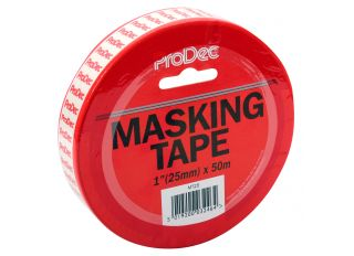 Rodo Prodec Masking Tape 25mmx50m (1in)