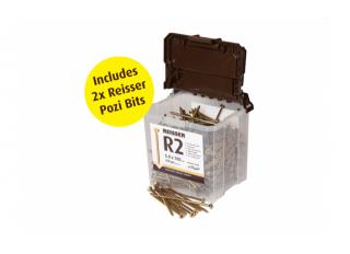 Reisser R2 Retinox Stainless Steel Screw 5.0x50mm (Box 200)