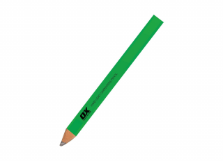 Ox Trade Hard Lead Carpenters Pencil Green (Pack 10)