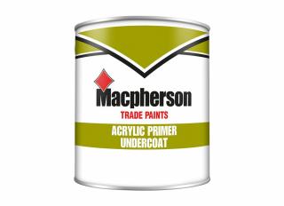 Macpherson Acrylic Primer Undercoat White 1L