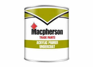 Macpherson Acrylic Primer Undercoat White 2.5L