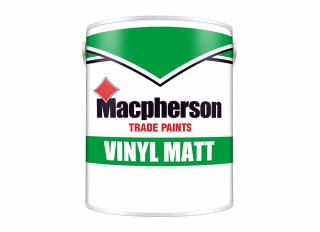 Macpherson Vinyl Matt Emulsion Brilliant White 5L