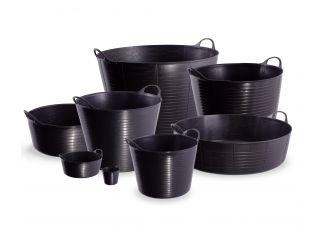 Gorilla Builders Bucket with Lip Black 15L