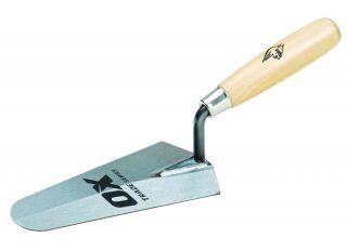 Ox Trade Gauging Trowel Wooden Handle 180mm (7in)