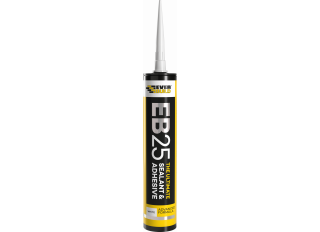 Everbuild EB25 The Ultimate Sealant & Adhesive Clear 300ml