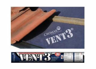 Cromar Vent 3 Classic Breathable Membrane 115g 1.5x50m