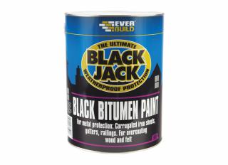 Everbuild 901 Bitumen Paint Black 5L
