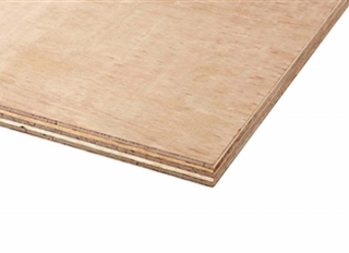 12x2440x1220mm H/wood Ply (Red Label) B/BB EN314-2 EN636-2 CE2