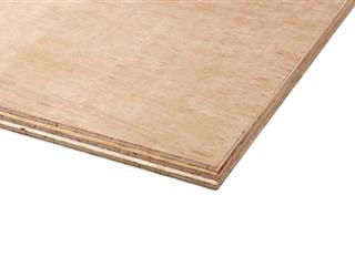 18x2440x1220mm H/wood Ply (Red Label) B/BB EN314-2 EN636-2 CE2